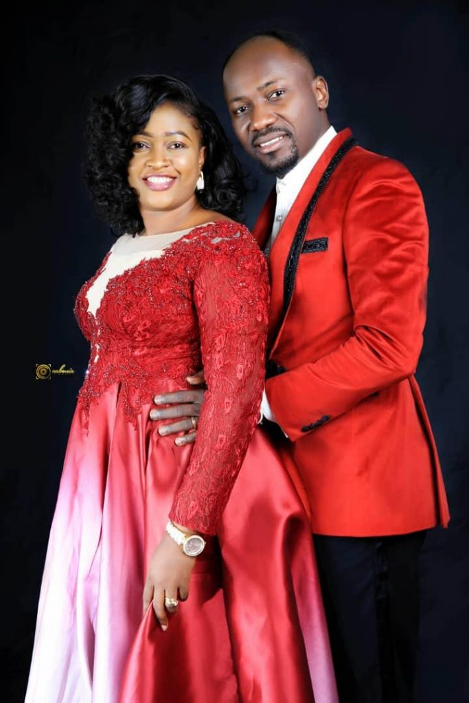 Omega Fire ministries Christian church, Bristol - Apostle Johnson Suleman with Wife