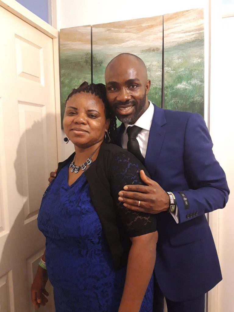 Omega Fire ministries church, Bristol: Pastor Christian Ikpeama and Wife